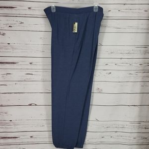 Open trails mens blue sweatpants